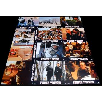 THE RULES OF ENGAGEMENT French Lobby Cards x12 9x12 - 2000 - William Friedkin, Tommy Lee Jones