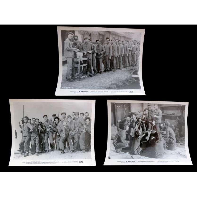 BAMBOO PRISON Photos de presse 20x25 - 1954 - Robert Francis, Lewis Seller