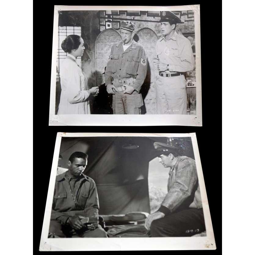 LES AILES DE L'ESPERANCE Photos de presse x2 20x25 - 1957 - Rock Hudson, Douglas Sirk