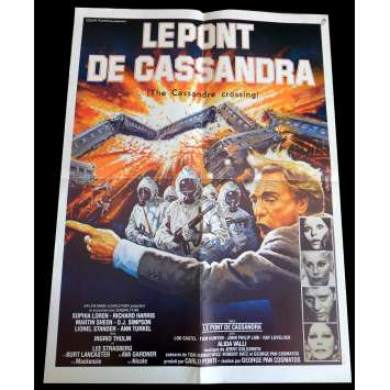 THE CASSANDRA CROSSING French Synopsis, Photos 9x12 - 1976 - George Pan Cosmatos, Sophia Loren