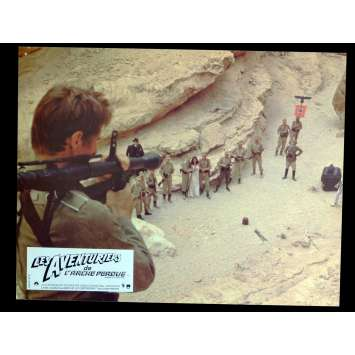RAIDERS OF THE LOST ARK French Lobby Card 2 9x12 - 1981 - Steven Spielberg, Harrison Ford
