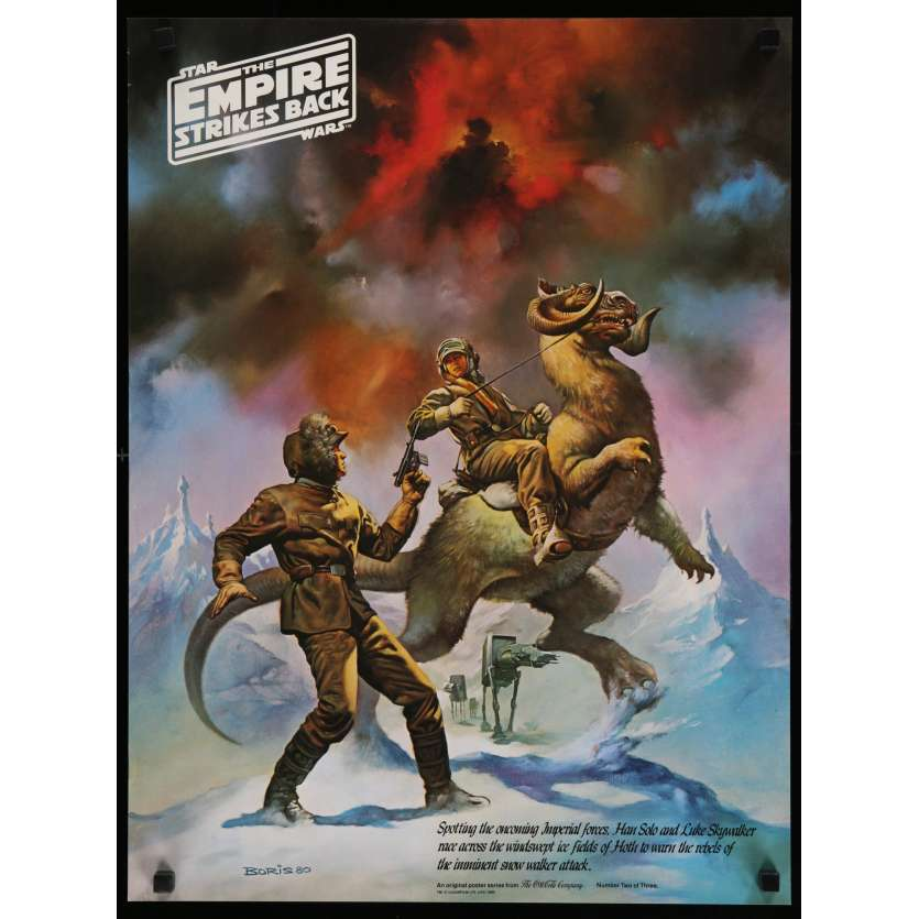 STAR WARS - EMPIRE STRIKES BACK US Special Poster B 18x24 - 1980 - George Lucas, Harrison Ford