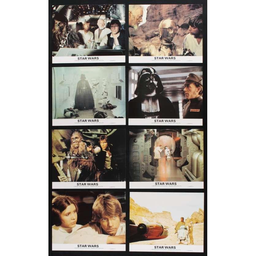 STAR WARS - UN NOUVEL ESPOIR Photos de film 20x25 - 1977 - Harrison Ford, George Lucas