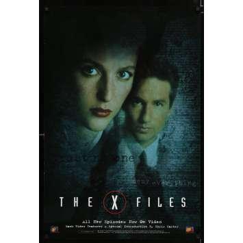 X-FILES US Movie Poster 29x40 - 1997 - Rob Bowman, David Duchowny