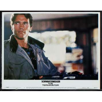 THE TERMINATOR US Lobby Card 2 11x14 - 1984 - James Cameron, Arnold Schwarzenegger