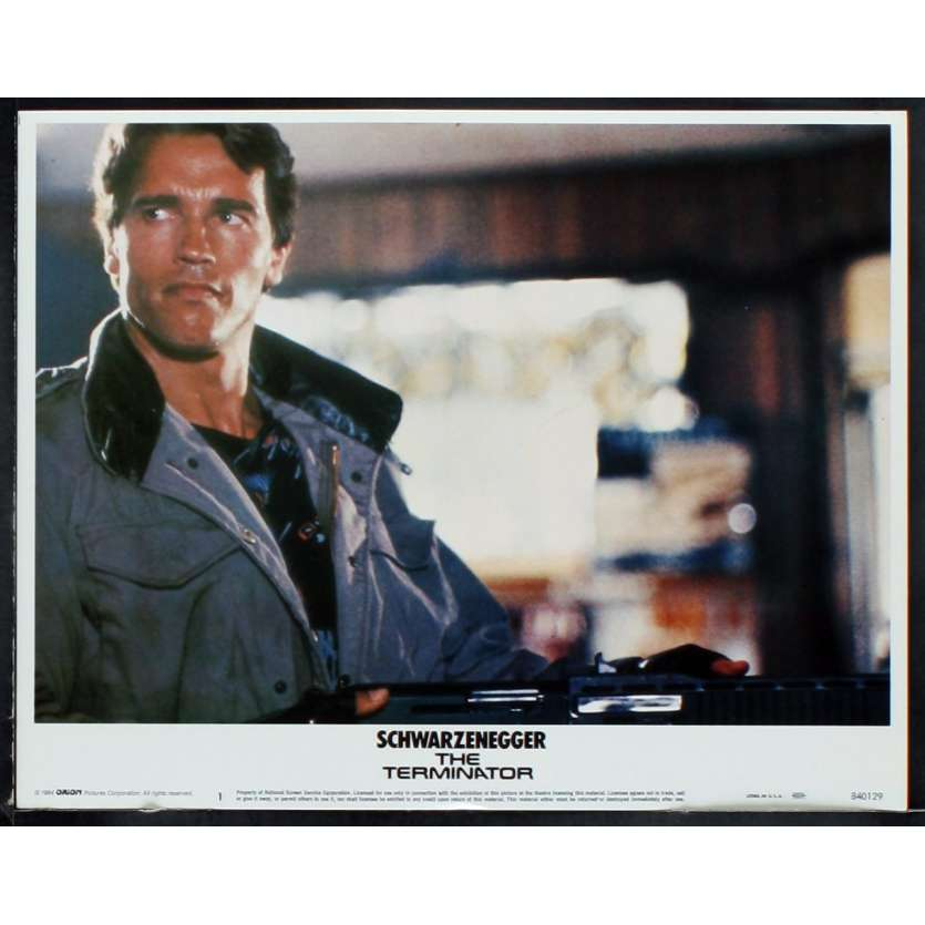 TERMINATOR Photo de film 2 28x36 - 1984 - Arnold Schwarzenegger, James Cameron
