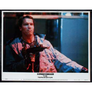 THE TERMINATOR US Lobby Card 4 11x14 - 1984 - James Cameron, Arnold Schwarzenegger