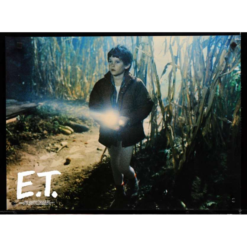 E.T. L'EXTRA-TERRESTRE Photo géante 6 43x58 - 1982 - Dee Wallace, Steven Spielberg