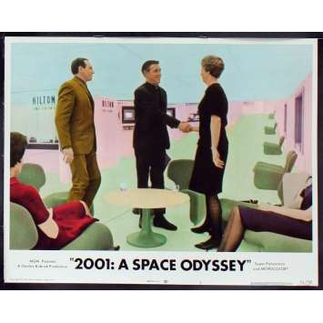 2001: A SPACE ODYSSEY US Lobby Card 4 11x14 - R1972 - Stanley Kubrick, Keir Dullea