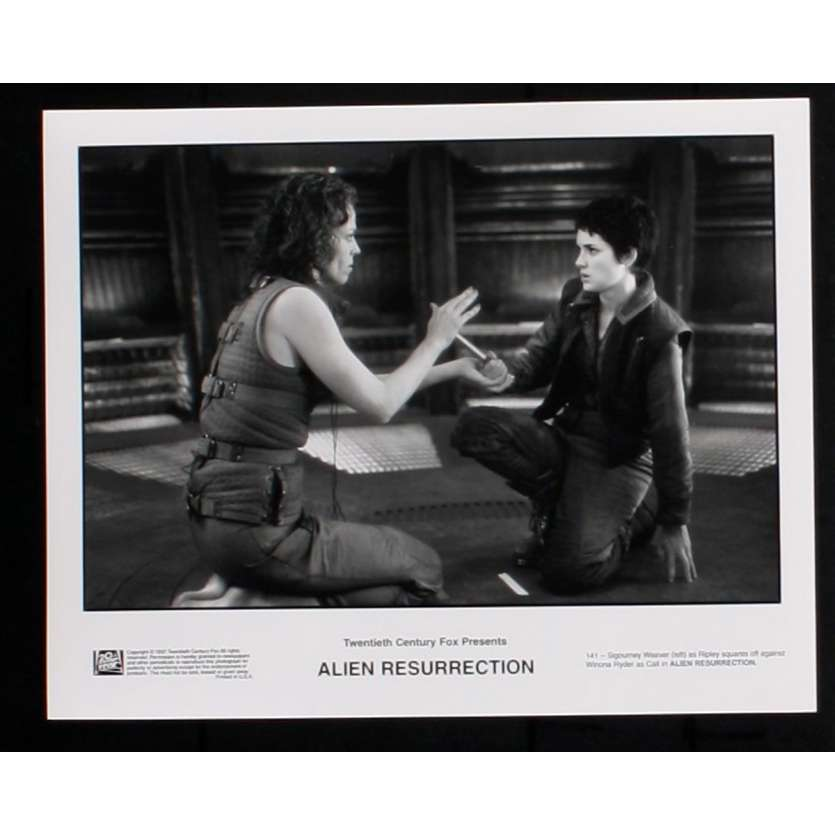 ALIEN RESURRECTION Photo de presse 4 20x25 - 1997 - Sigourney Weaver, Jean-Pierre Jeunet