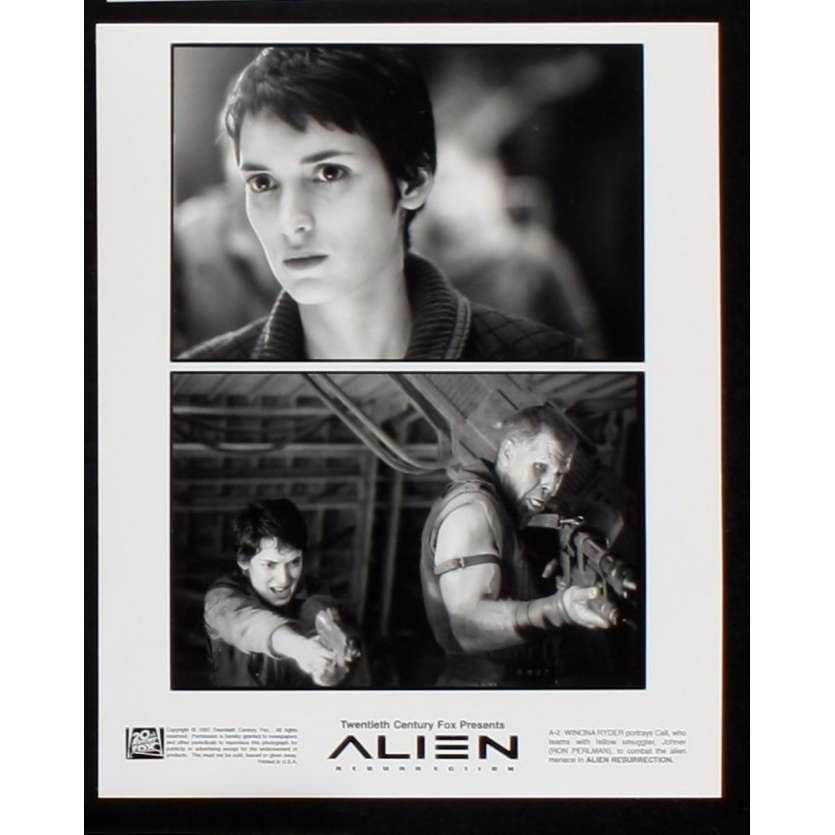 ALIEN RESURRECTION Photo de presse 5 20x25 - 1997 - Sigourney Weaver, Jean-Pierre Jeunet