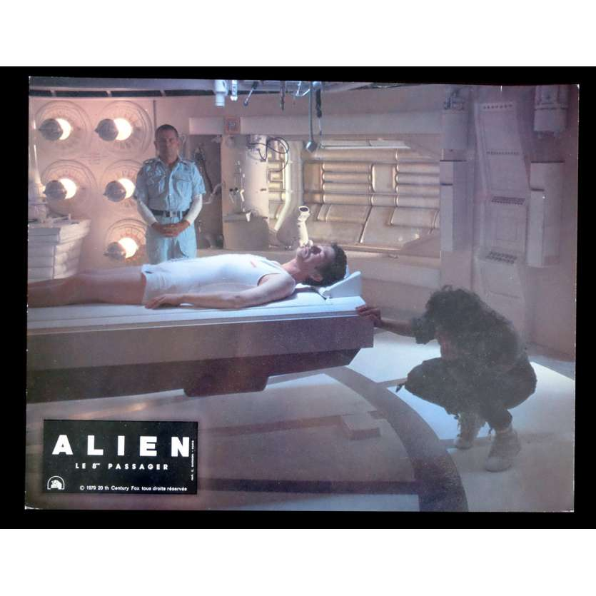 ALIEN French Lobby Card 9x12 - 1979 - Ridley Scott, Sigourney Weaver