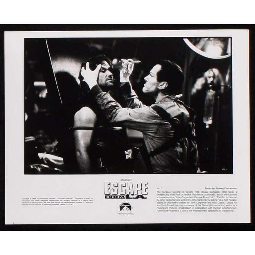 LOS ANGELES 2013 Photo de presse 5 20x25 - 1996 - Kurt Russel, John Carpenter