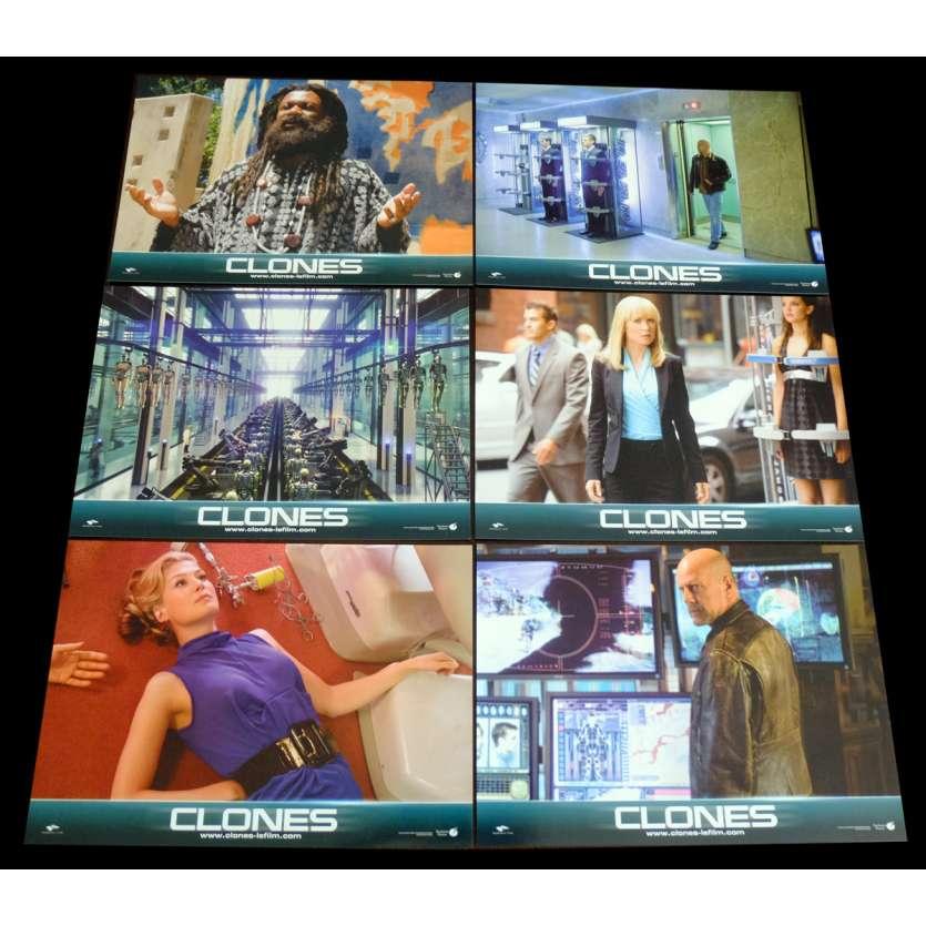 CLONES Photos de film x6 21x30 - 2009 - Bruce Willis, Jonathan Mostow