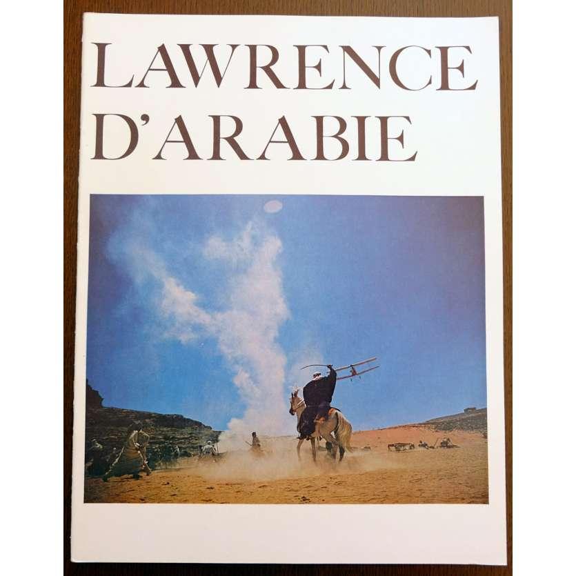 LAWRENCE D'ARABIE Programme du film 24x31 FR '62 Peter O'Toole, d'Arabia Program