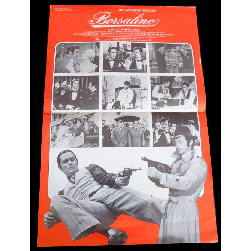 BORSALINO Flyer 21x30 - 1970 - Jean-Paul Belmondo, Jacques deray