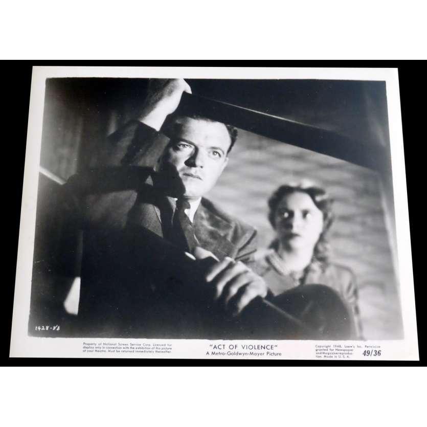 ACT OF VIOLENCE US Press Still 1 8x10 - 1949 - Fred Zinnemann, Van Heflin