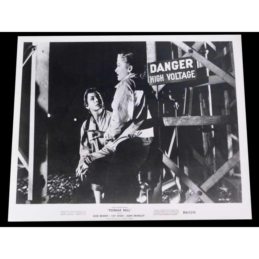 TEENAGE DOLL US Press Still 8x10 - 1957/R1961 - Roger Corman, June Kenney