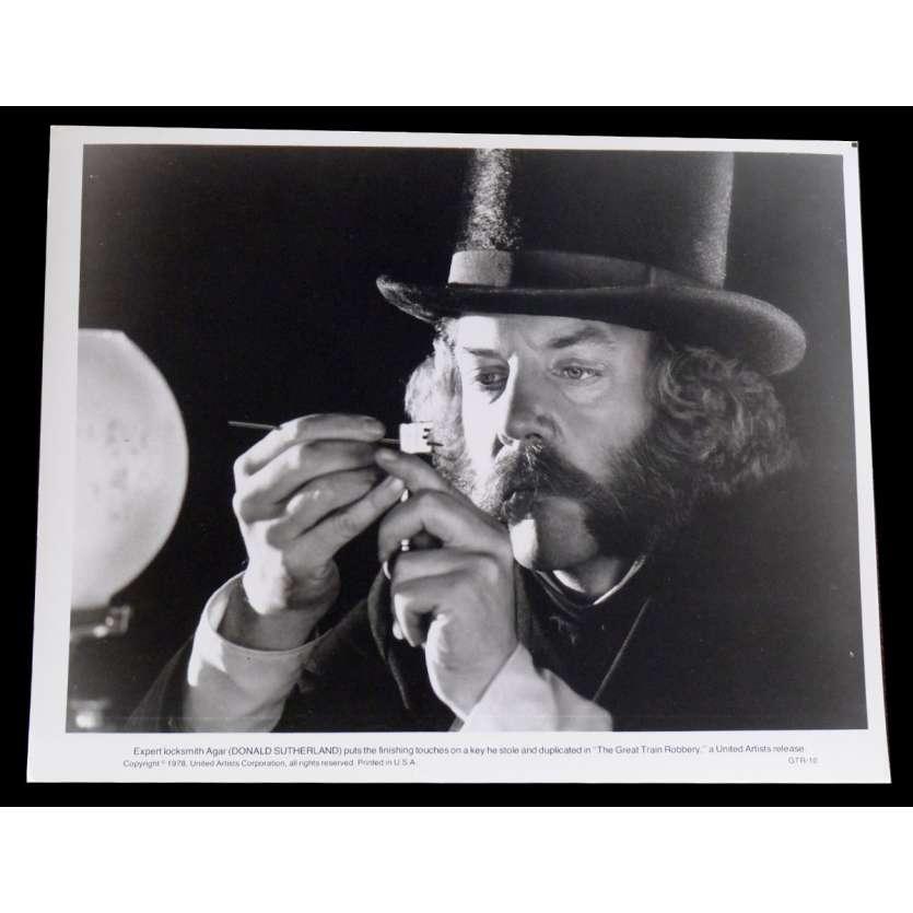 LA GRANDE ATTAQUE DU TRAIN D'OR Photo de presse 20x25 - 1978 - Sean Connery, Michael Crichton