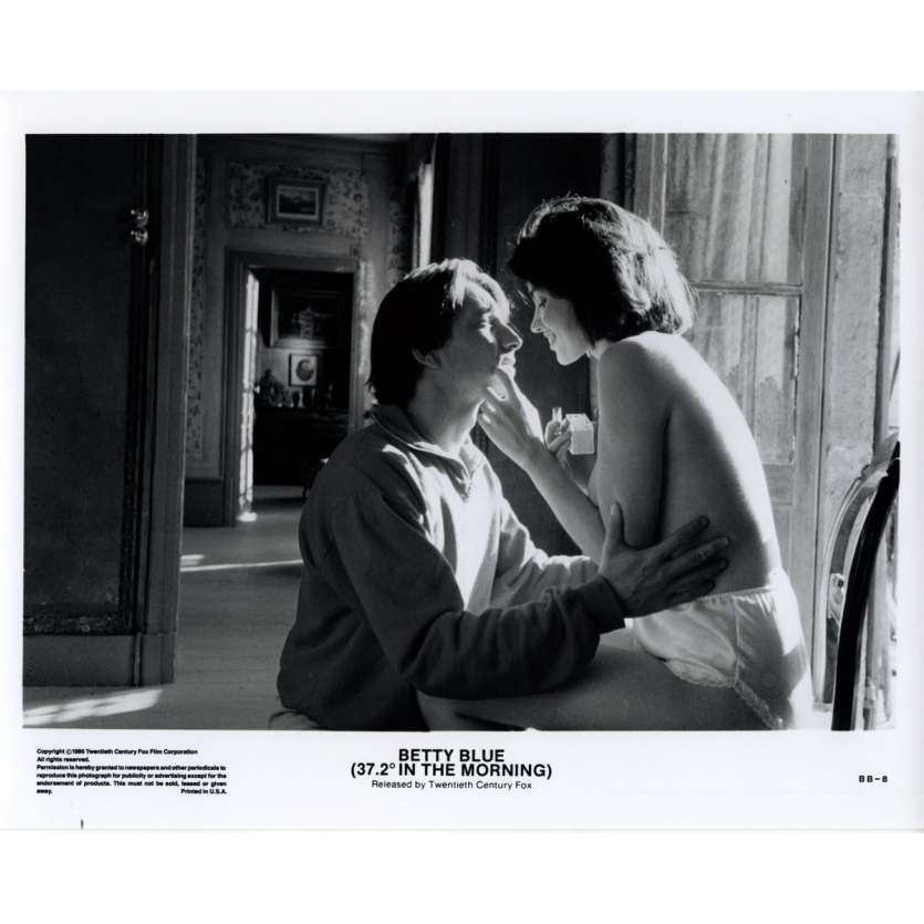 BETTY BLUE US Still 12 8x10 - 1986 - Jean-Jacques Beineix, Béatrice Dalle