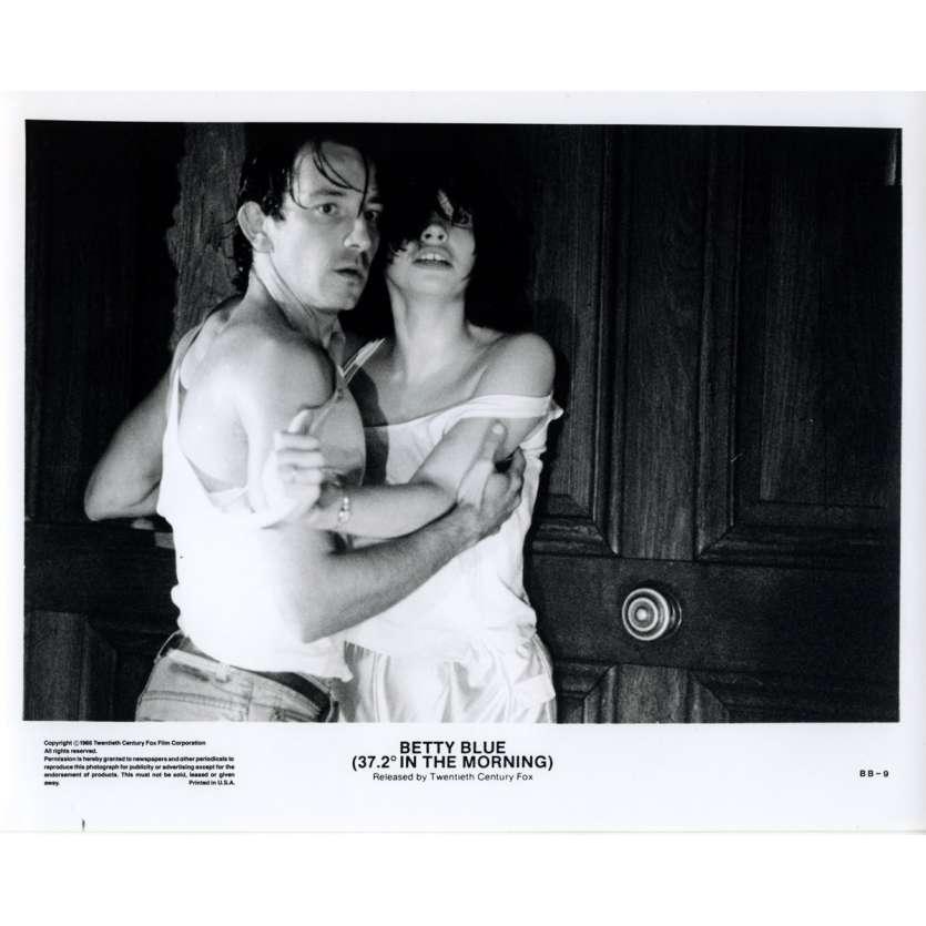 37,2 LE MATIN Photo de presse 11 20x25 - 1986 - Béatrice Dalle, Jean-Jacques Beineix