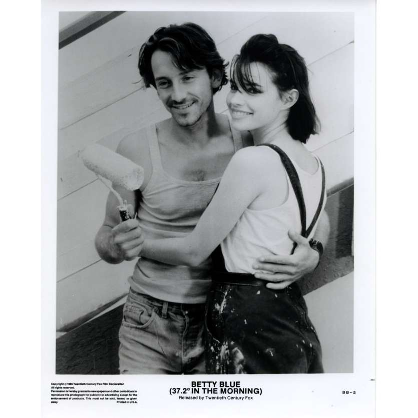 BETTY BLUE US Still 9 8x10 - 1986 - Jean-Jacques Beineix, Béatrice Dalle