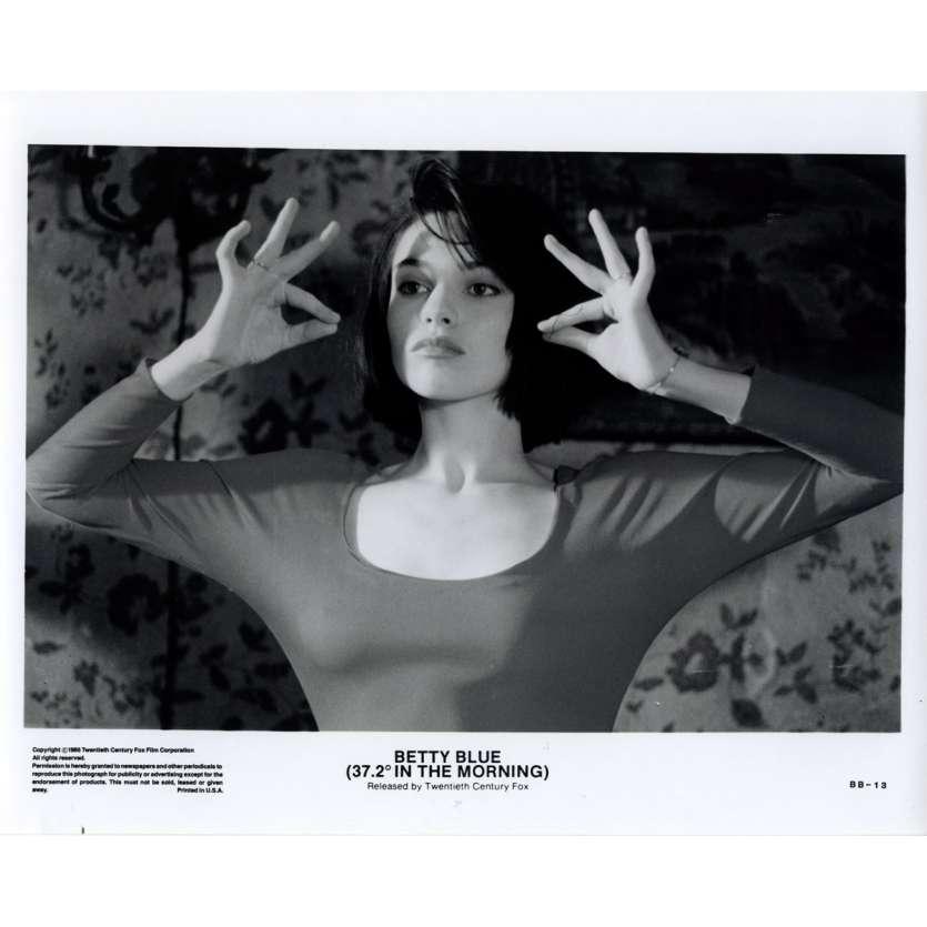 37,2 LE MATIN Photo de presse 1 20x25 - 1986 - Béatrice Dalle, Jean-Jacques Beineix
