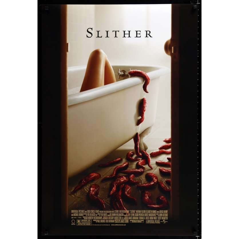 SLITHER US Movie Poster 29x41 - 2006 - James Gunn, Michael Rooker