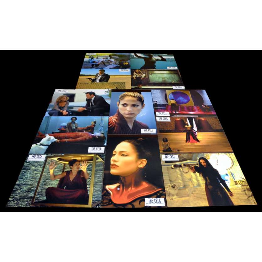 THE CELL French Lobby Cards x12 9x12 - 2000 - Tarsem Singh, Jennifer Lopez