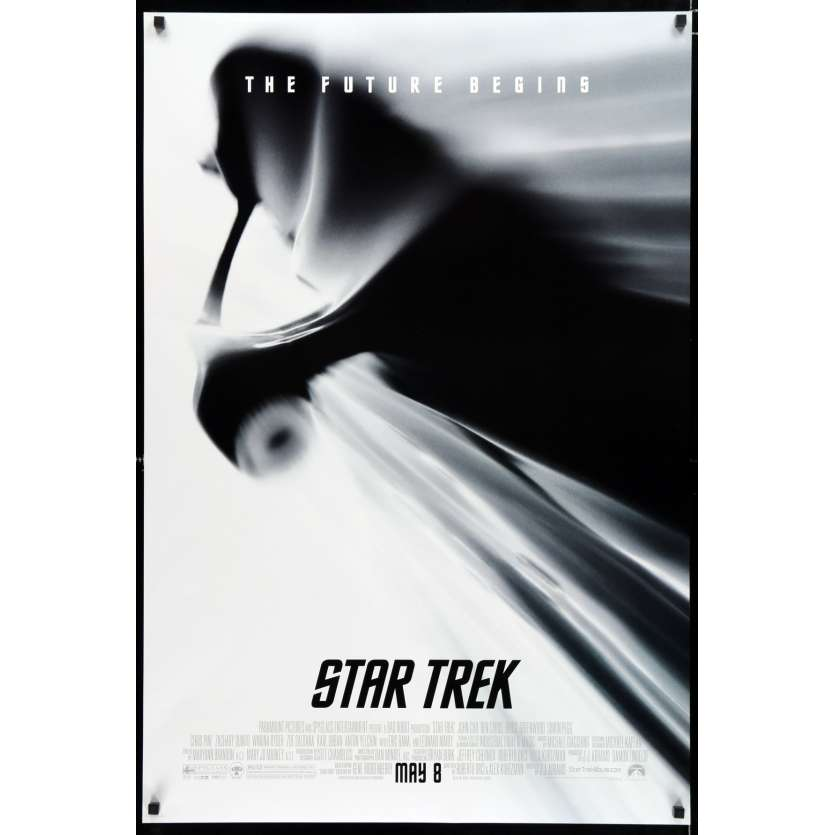 STAR TREK Affiche de film 69x104 - 2009 - Chris Pine, J. J. Abrahms
