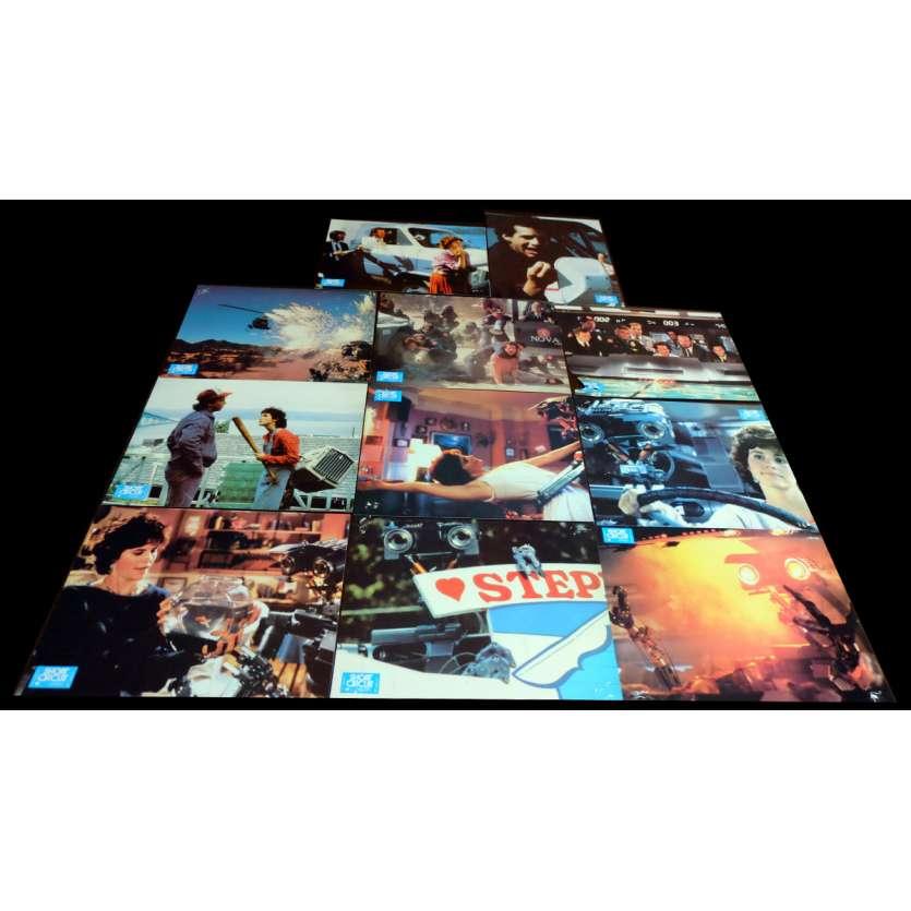 SHORT CIRCUIT Photos x11 21x30 - 1986 - Steve Guttenberg, John Badham