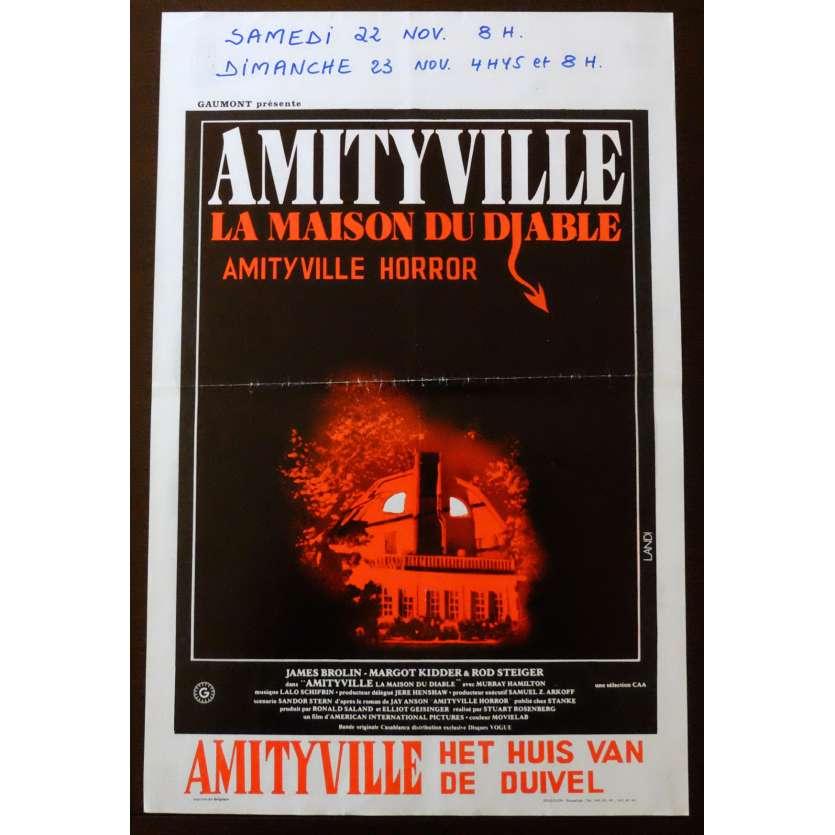 AMITYVILLE Affiche de film 35x55 - 1979 - James Brolin, Stuart Rosenberg