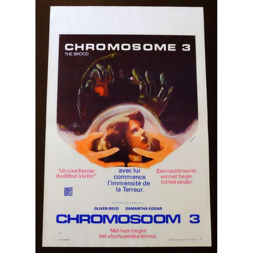 CHROMOSOME 3 Affiche de film 35x55 - 1979 - Oliver Reed, David Cronenberg