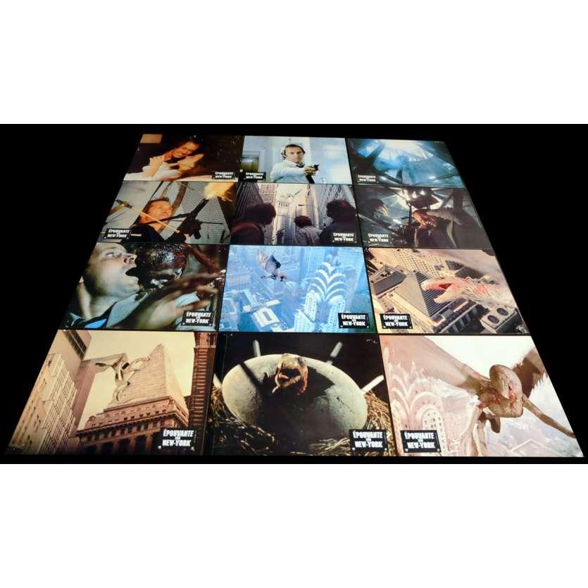 EPOUVANTE SUR NEW-YORK Photos x12 21x30 - 1982 - David Carradine, Larry Cohen