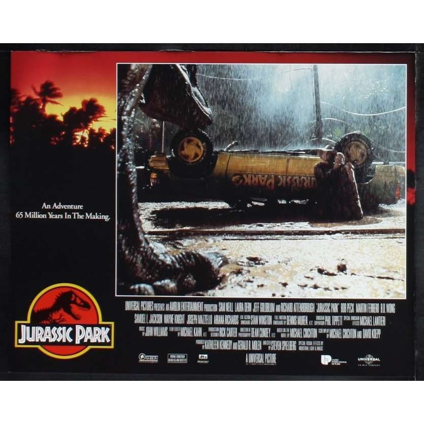 JURASSIC PARK Photo de film N7 28x36 - 1993 - Sam Neil, Steven Spielberg