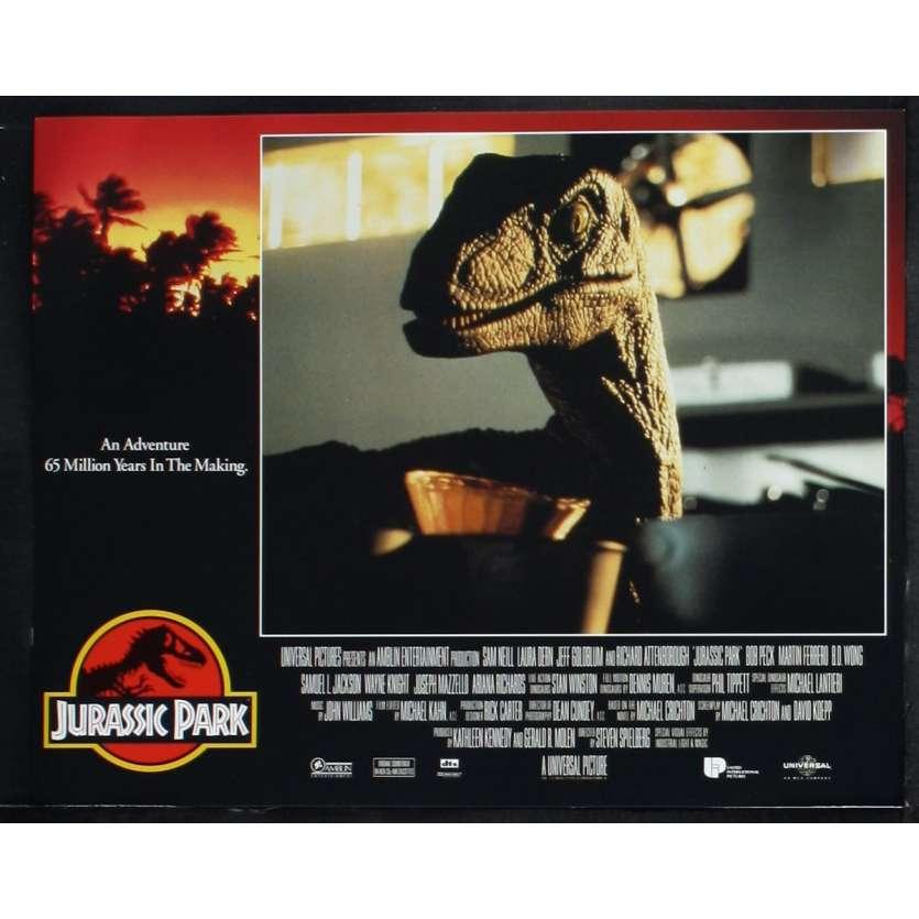 JURASSIC PARK US Lobby Card N5 11x14 - 1993 - Steven Spielberg, Sam Neil