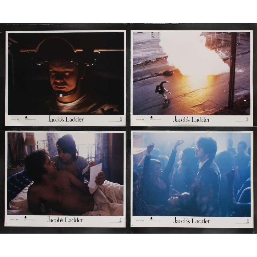 JACOB'S LADDER US Lobby Cards x8 11x14 - 1990 - Adrian Lyne, Tim Robbins