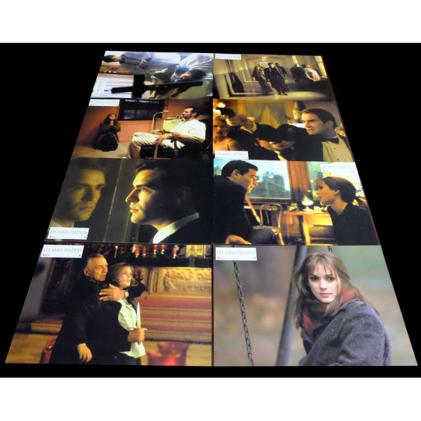 LOST SOULS French Lobby Cards x8 9x12 - 2000 - Janusz Kamiński, Winona Ryder