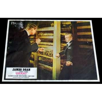GIANT French Lobby Card 6 9x12 - R1970 - George Stevens, James Dean