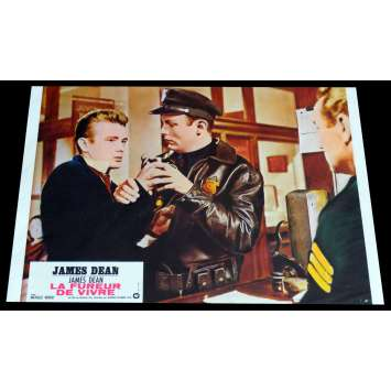 REBEL WITHOUT A CAUSE French Lobby Card 1 9x12 - R1970 - Nicholas Ray, James Dean