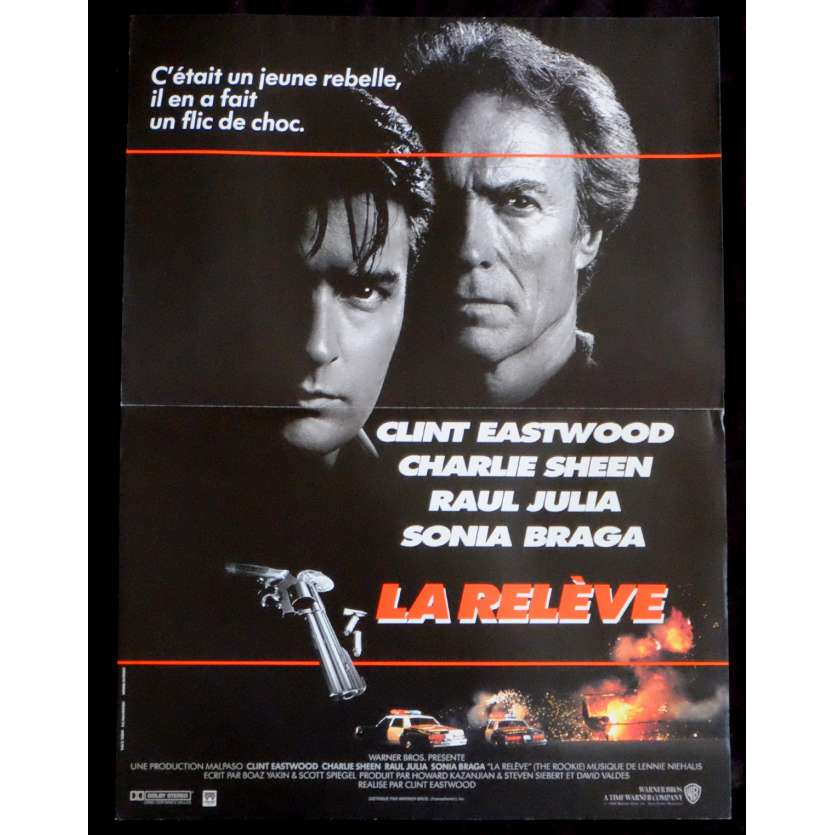 THE ROOKIE French Movie Poster 15x21 - 1990 - Clint Eastwood, Clint Eastwood