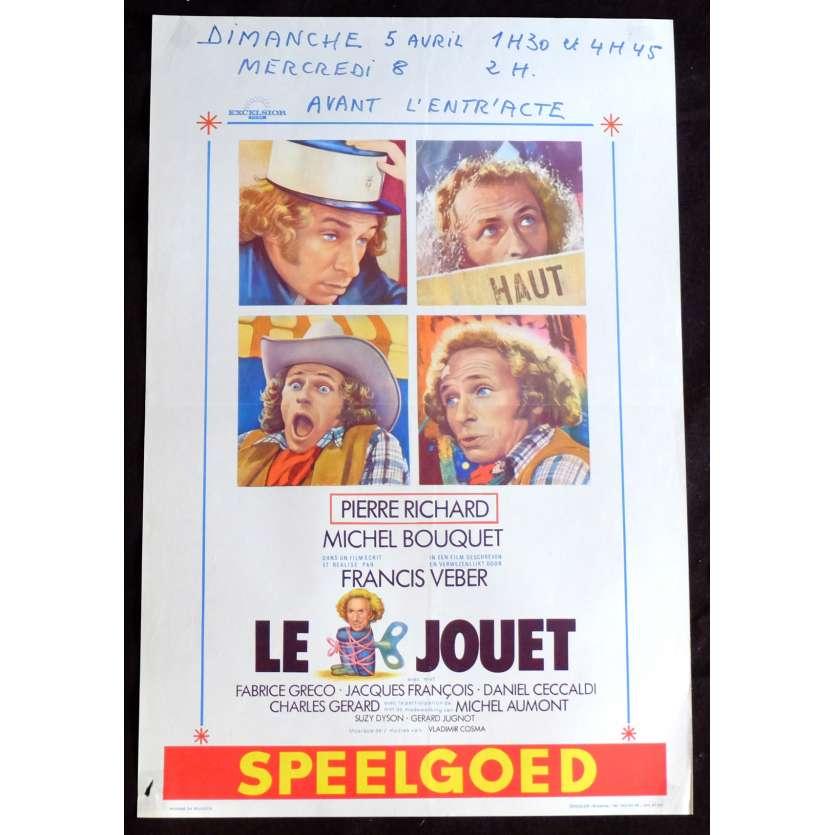 LE JOUET Affiche de film 35x55 - 1976 - Pierre Richard, Francis Weber