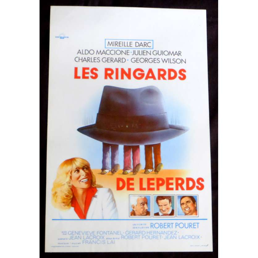 THE SMALL TIMERS Belgian Movie Poster 14x21 - 1978 - Robert Pouret, Mireile Darc