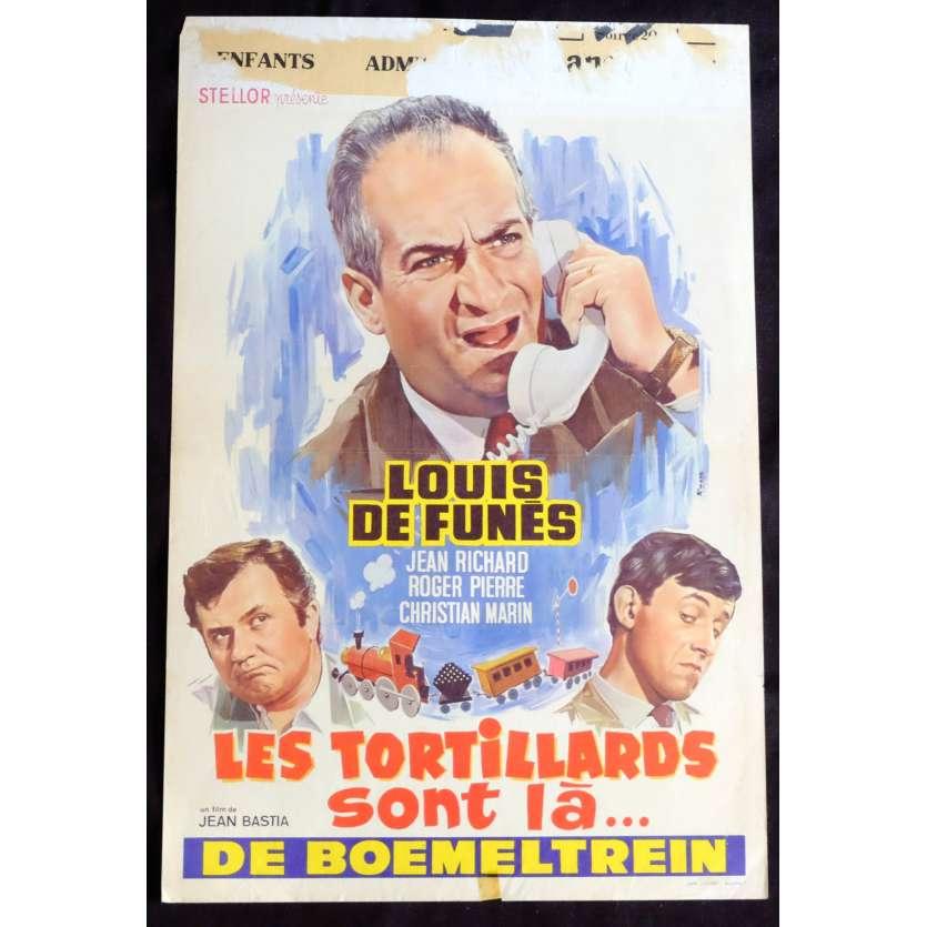 LES TORTILLARDS Affiche de film 35x55 - 1960 - Louis de Funes, Roger Pierre
