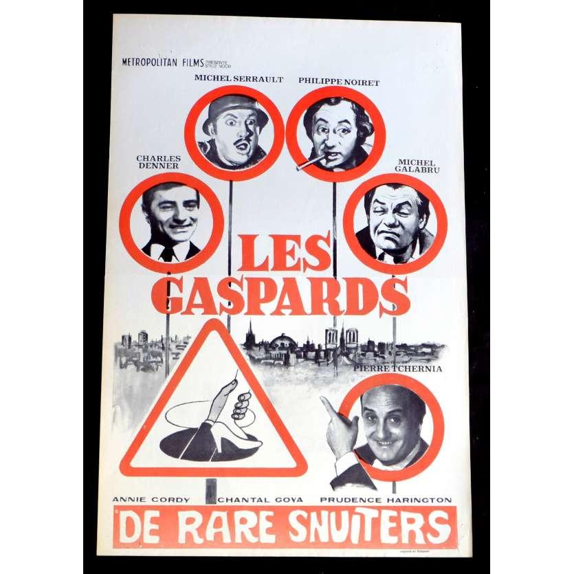 LES GASPARDS Affiche de film 35x55 - 1974 - Michel Serrault, Pierre Tchernia