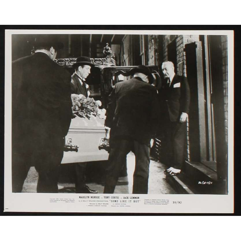CERTAINS L'AIMENT CHAUD Photo de presse 6 20x25 - 1959 - Marilyn Monroe, Billy Wilder