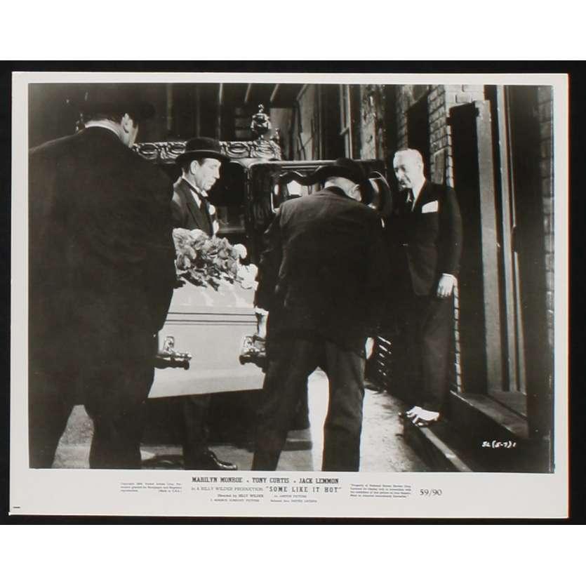 SOME LIKE IT HOT US Still 6 8x10 - 1959 - Billy Wilder, Marilyn Monroe