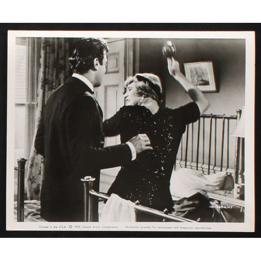 CERTAINS L'AIMENT CHAUD Photo de presse 4 20x25 - 1959 - Marilyn Monroe, Billy Wilder