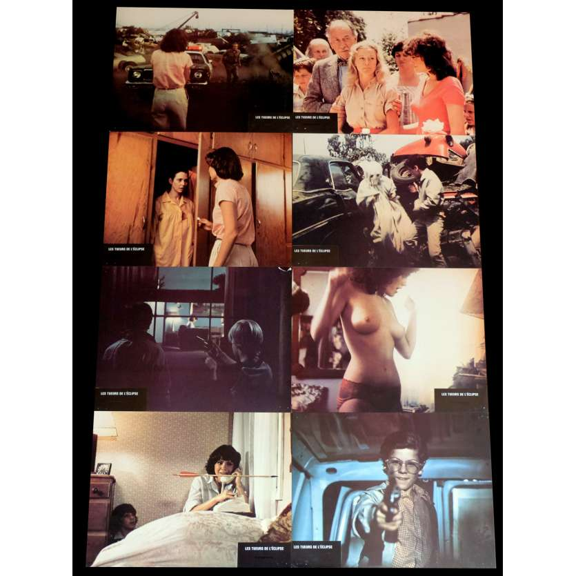 BLOODY BIRTHDAY French Lobby Cards x8 9x12 - 1981 - Ed Hunt, Melinda Cordell