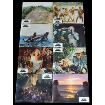 THE MOUNTAIN OF THE CANNIBAL GOD French Lobby Cards x8 9x12 - 1978 - Sergio Martino, Ursula Andress
